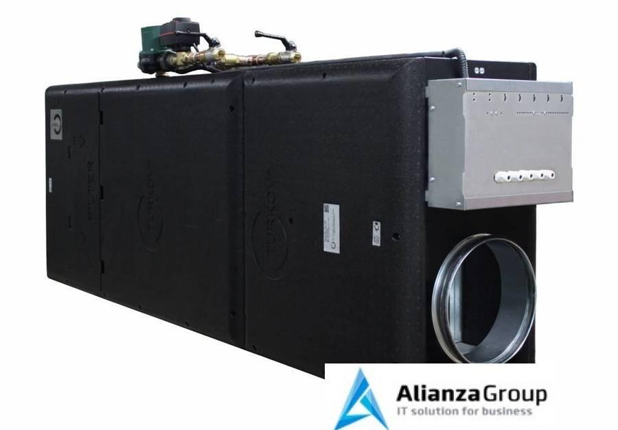 Приточная вентиляция с водяным подогревом воздуха и фильтрацией Turkov i-VENT-1500W