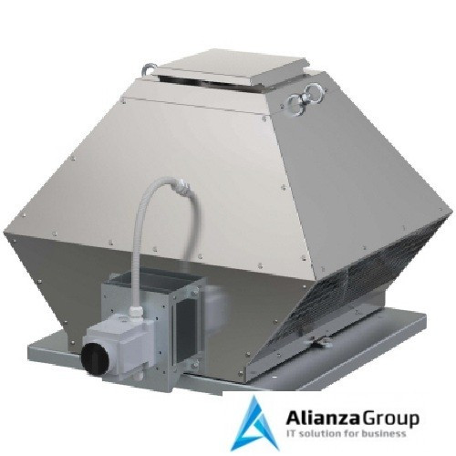 Крышный вентилятор дымоудаления Systemair DVG-H 450D4-8/F400