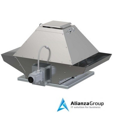 Крышный вентилятор дымоудаления Systemair DVG-V 450D4-8/F400