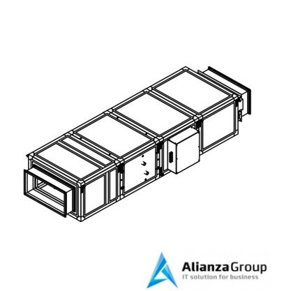 Приточная вентиляционная установка Breezart 3700 Lux W 45 - 380/3