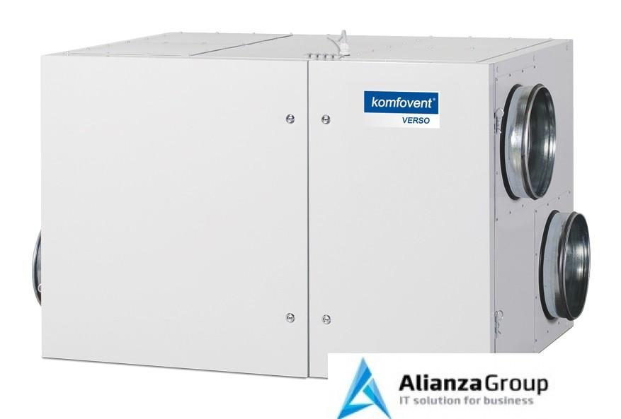 Приточно-вытяжная вентиляционная установка Komfovent Verso-R-1300-UV-E (L/AZ)