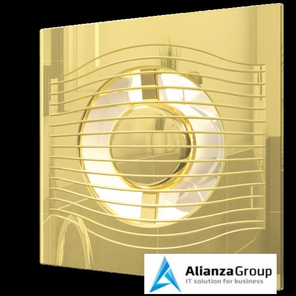 Вытяжка для ванной диаметр 125 мм ERA SLIM 5C Gold