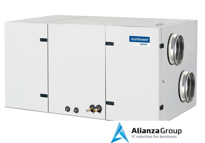 Приточно-вытяжная вентиляционная установка Komfovent Verso-CF-1300-H-W