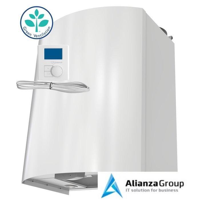 Приточно-вытяжная вентиляционная установка 500 Systemair SAVE VTR 150/K R 500W White