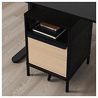 БЕКАНТ Модуль для хранения, на ножках, сетка черный, 41x61 см