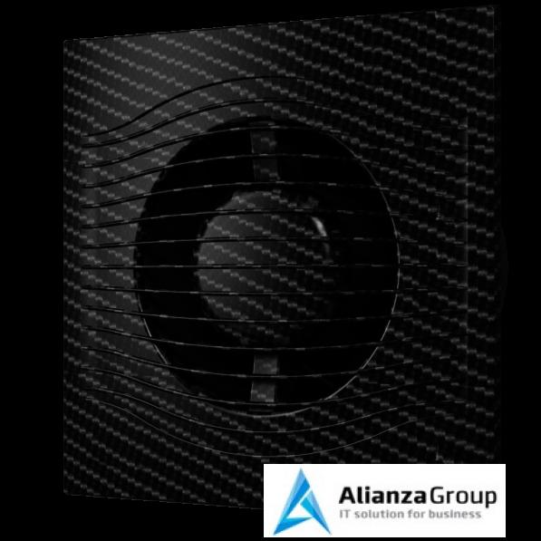 Вытяжка для ванной диаметр 125 мм ERA SLIM 5C black carbon