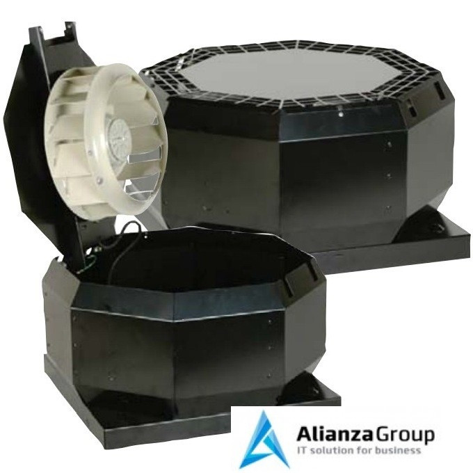 Крышный вентилятор Systemair TOE 355-4 Roof fan