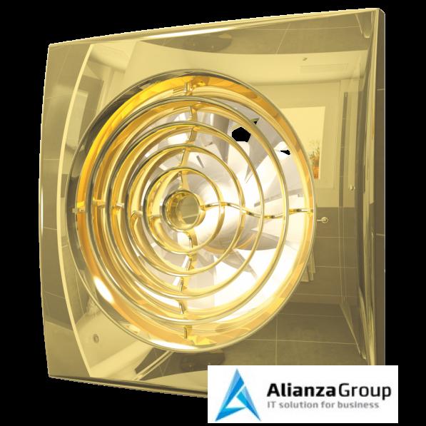 Вытяжка для ванной диаметр 125 мм ERA AURA 5C Gold