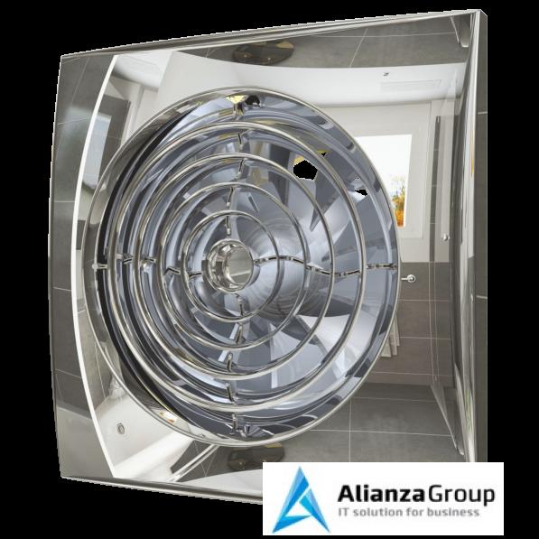 Вытяжка для ванной диаметр 125 мм ERA AURA 5C Chrome
