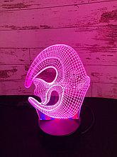 Ночник 3D Рыбка