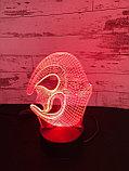 Ночник 3D Рыбка, фото 3