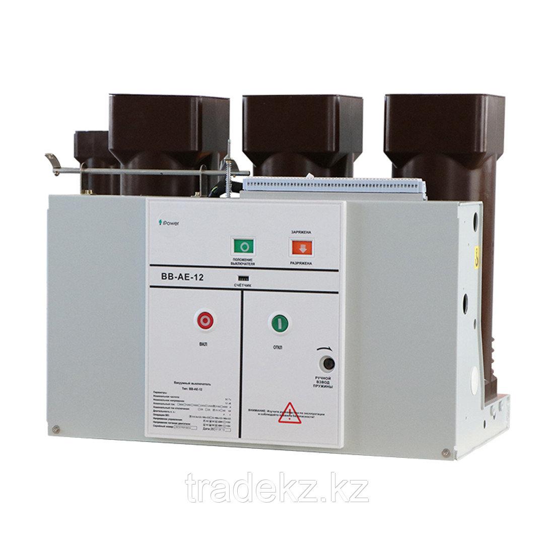 Вакуумный выключатель iPower BB-AE-12 1600А (12kV, 31.5KA, 220V DC, 5А) стационарный