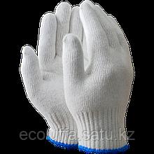 Перчатки ХБ. 1000 гр (Синий кант)