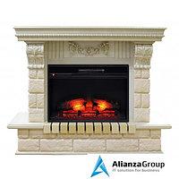 Электрокамин (очаг+портал) Real-Flame Gracia 25,5/24 WT Eridan 24