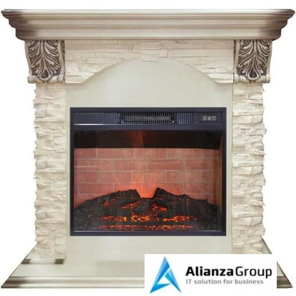 Электрокамин (очаг+портал) Real-Flame Dublin LUX STD/EUG/24 WT Irvine 24