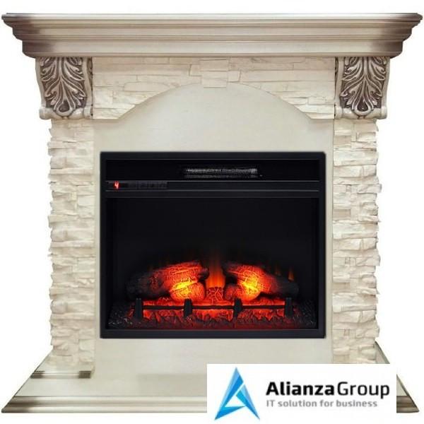 Электрокамин (очаг+портал) Real-Flame Dublin LUX STD/EUG/24 WT Eridan 24
