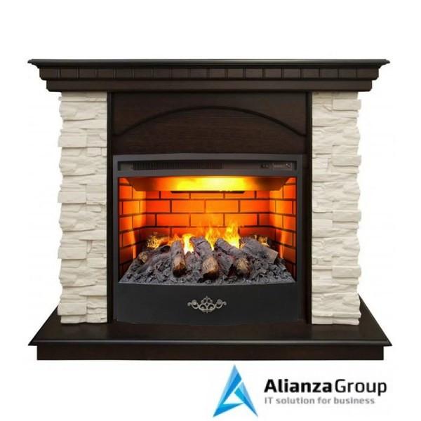 Электрокамин (очаг+портал) Real-Flame Elford STD/EUG/25,5/HL AO 3D Firestar 25,5