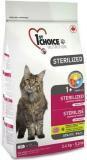 1st Choice «Курица с бататом» сухой корм для стерилизованных взрослых кошек 1 кг. на развес