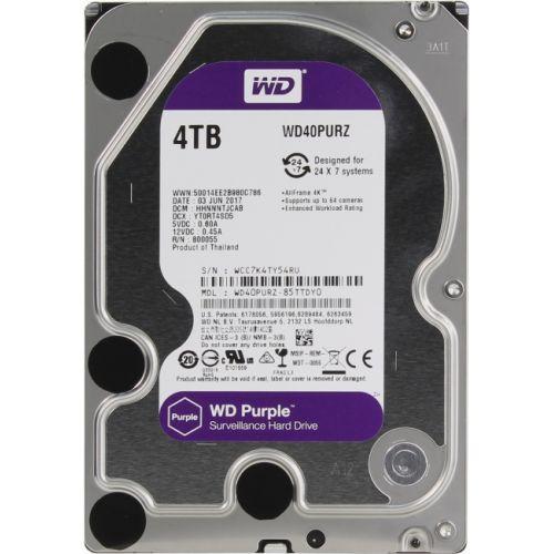 Жёсткий диск Western Digital WD Purple WD40PURZ 4TB