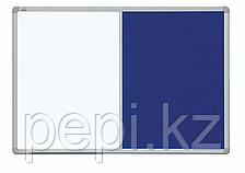 Доска комбинированная (маркерная/текстильная) настенная 90*120см