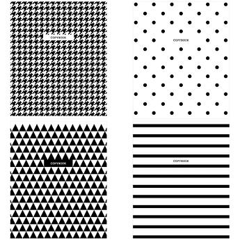 "Тетрадь 48л., А5, клетка ArtSpace ""Узоры. BW Pattern"""