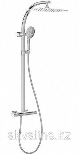 TALAN Душевая колонна c термостатическим смесителем, прямоуг верхним душем