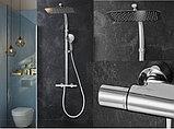 TALAN Душевая колонна c термостатическим смесителем, прямоуг верхним душем, фото 2