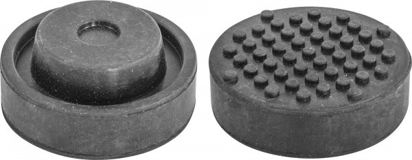 (OHT1070) Опора резиновая для подкатных домкратов, D-72 мм, H-32 мм