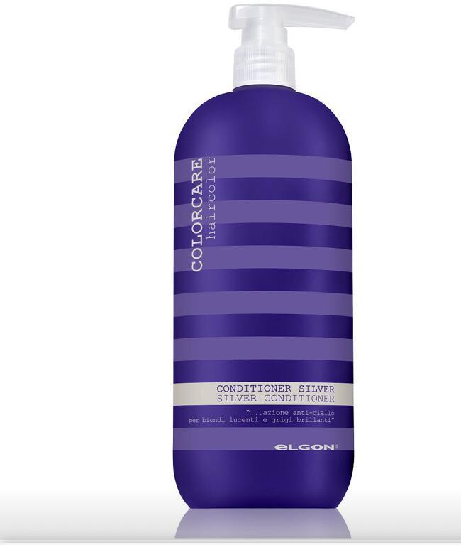 Color Care кондеционер Silver 1000ml Elgon Cosmetics