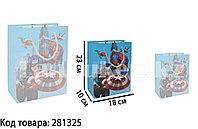 Подарочный пакет Супергерои Марвел 23*18*10 см