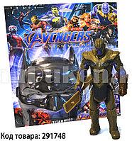 Набор детская маска и фигурка Танос 15.5 см серия Мстители