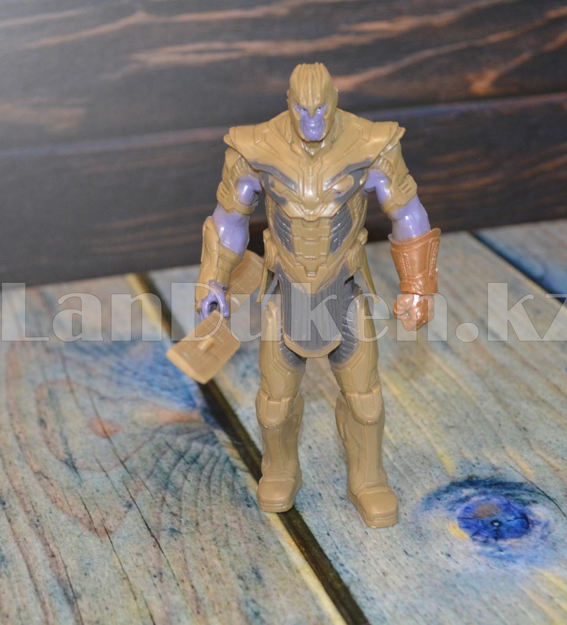 Набор детская маска и фигурка Танос 15.5 см серия Мстители - фото 4