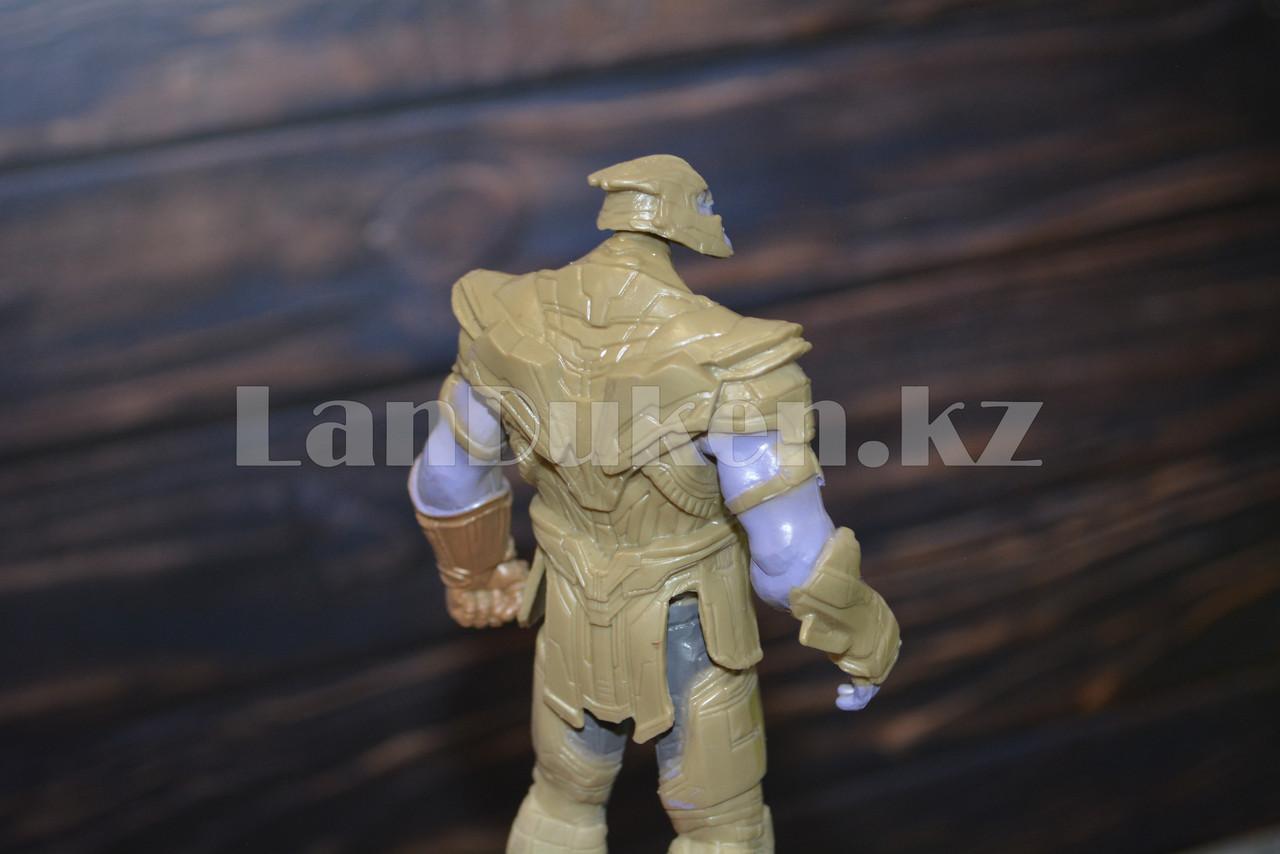 Набор детская маска и фигурка Танос 15.5 см серия Мстители - фото 5
