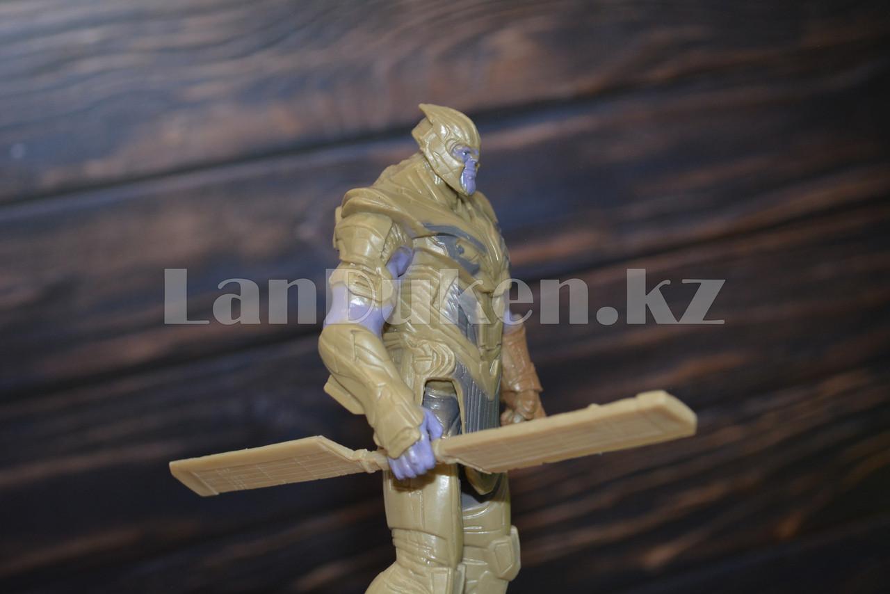 Набор детская маска и фигурка Танос 15.5 см серия Мстители - фото 6