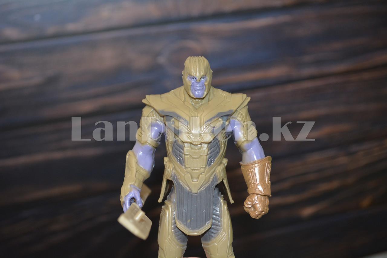 Набор детская маска и фигурка Танос 15.5 см серия Мстители - фото 7