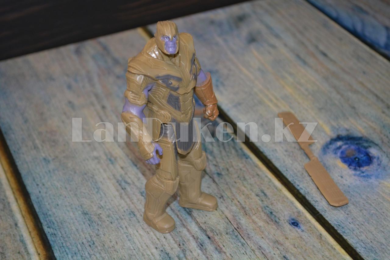 Набор детская маска и фигурка Танос 15.5 см серия Мстители - фото 10
