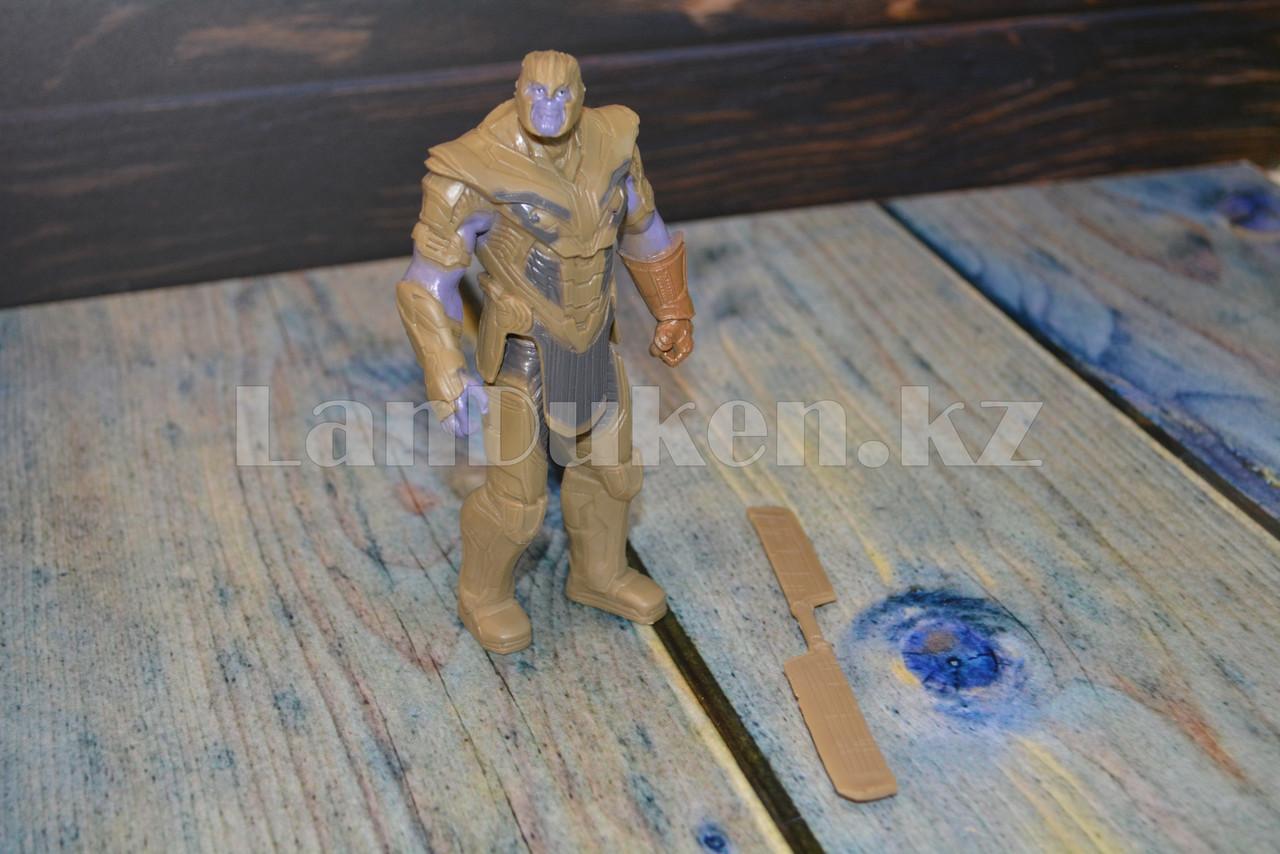 Набор детская маска и фигурка Танос 15.5 см серия Мстители - фото 9