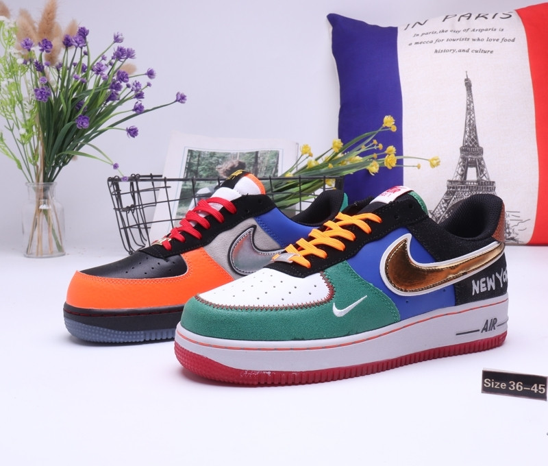 "Кроссовки Nike Air Force 1 ""Multicolor"" (36-45)"
