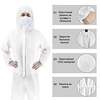 Защитный костюм, одноразовый