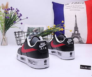"""Кроссовки Nike Air Force 1 """"Black and Red"""" (36-44), фото 2"""