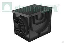 Дождеприемник-пескоуловитель PolyMax Basic ДПП–40.40-ПП пластиковый