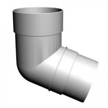 Колено водосточное 72гр. D= 85 мм Docke Standart