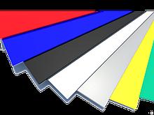 Оцинкованный стальной плоский лист ширина 1,25 м Полиэстер 25 мкм, 0,4-0,7 мм