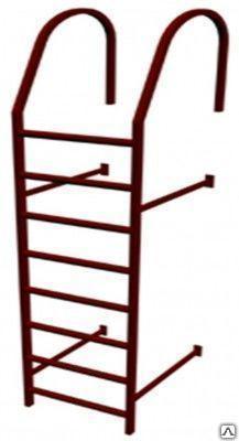 Лестница кровельная стеновая (дл. 1860 мм) без кронштейнов