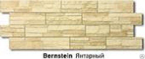 Фасадная панель Docke-R Stein 1,20х0,43 янтарная