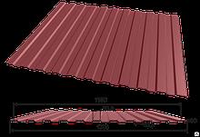 Профнастил С-8, 1150 мм профилированный 0,45 мм