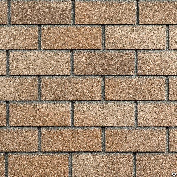 Фасадная плитка Hauberk (под кирпич) Цвет Песчаный