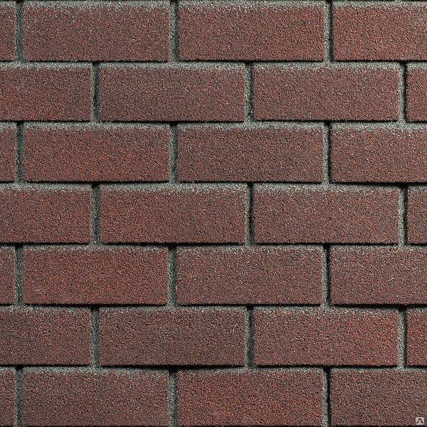 Фасадная плитка Hauberk (под кирпич) Цвет обожженый