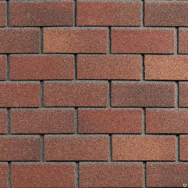 Фасадная плитка Hauberk (под кирпич) Цвет Теракоттовый