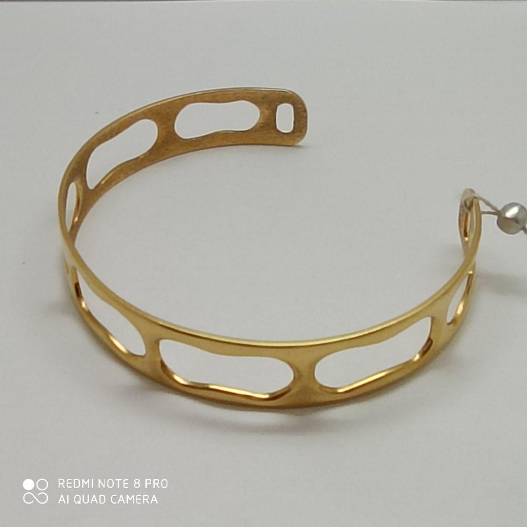 Золотой браслет « Мэгран» / жёлтое золото